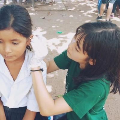 カンボジアで公衆衛生 武藤安澄